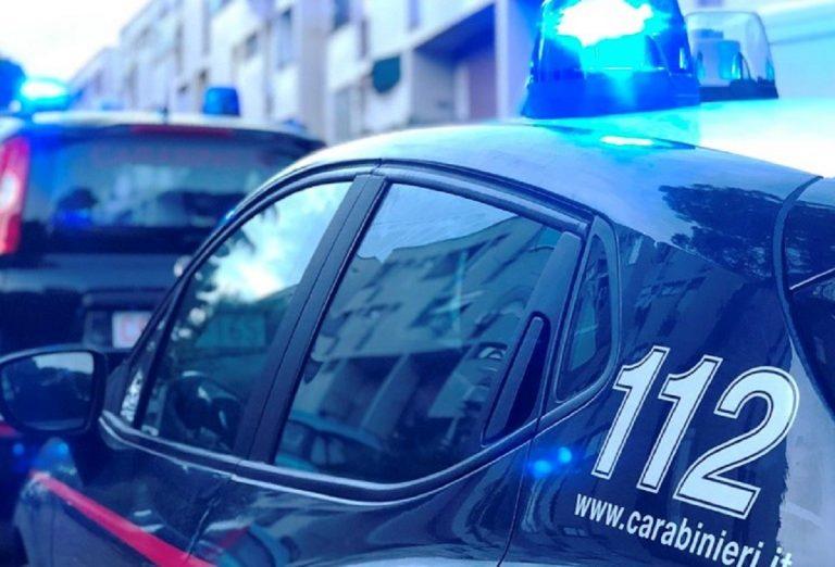 I carabinieri sono intervenuti sull'ennesimo tentato femminicidio