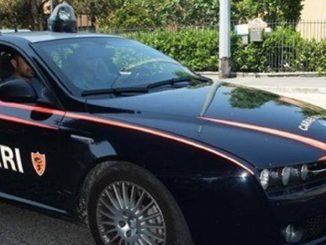 Carabinieri di Napoli al lavoro sul caso