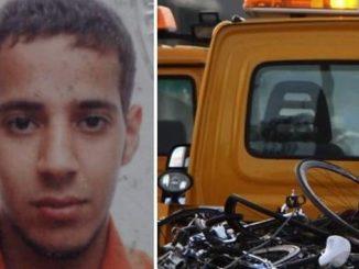 Chafik Elketani e uno scatto della strage