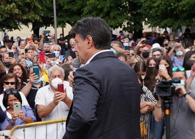 Il presidente del M5S Giuseppe Conte