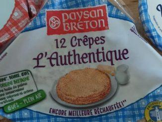Crepes Paysan Breton ritirate