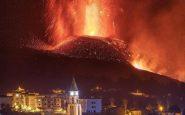 Una spettacolare immagine dell'eruzione del Cumbre Vieja