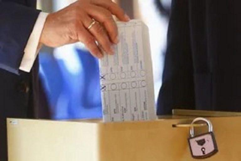 Apertura seggi elezioni comunali del 2021