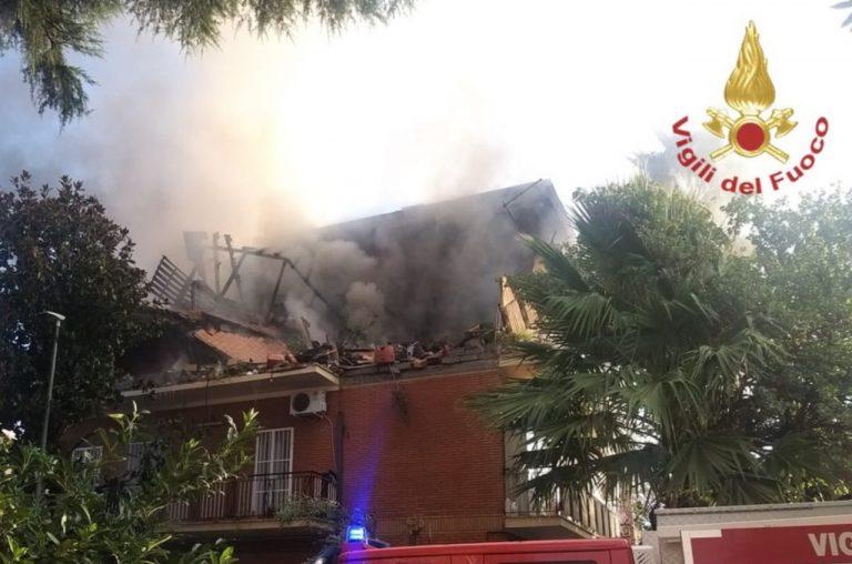 Esplosione Torre Angela