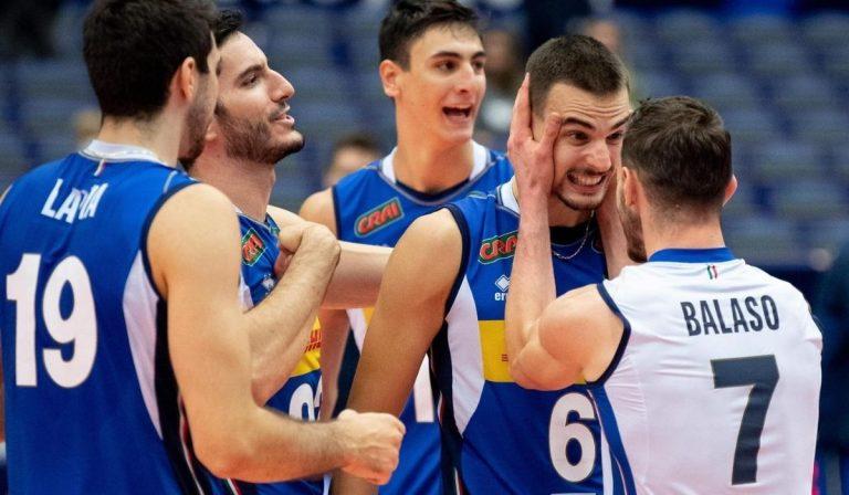 Europei pallavolo Italia Serbia