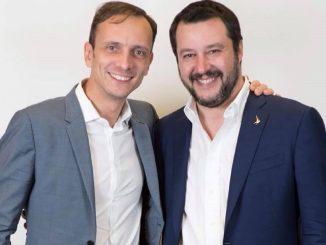 Massimiliano Fedriga e Matteo Salvini