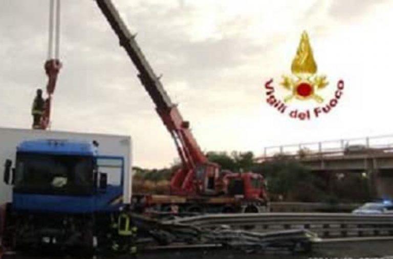 Incidente sull'autostrada Siracusa-Catania