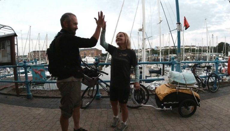 Jason Lewis e l'idea di circumnavigare Regno Unito e Irlanda