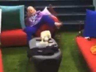Katia Ricciarelli caduta