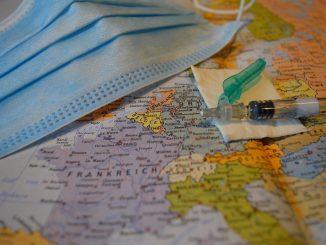 Mappe Ue rischio Covid