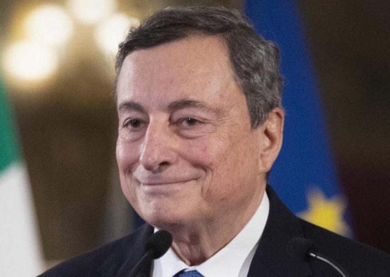 Mario Draghi premiato da Time