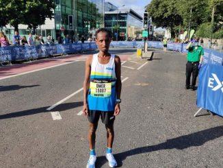 Vince la mezza maratona di Bristol, squalificato