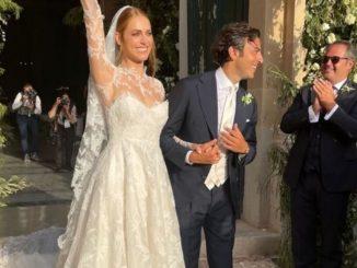 Miriam Leone si sposa