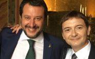 Luca Morisi con Matteo Salvini