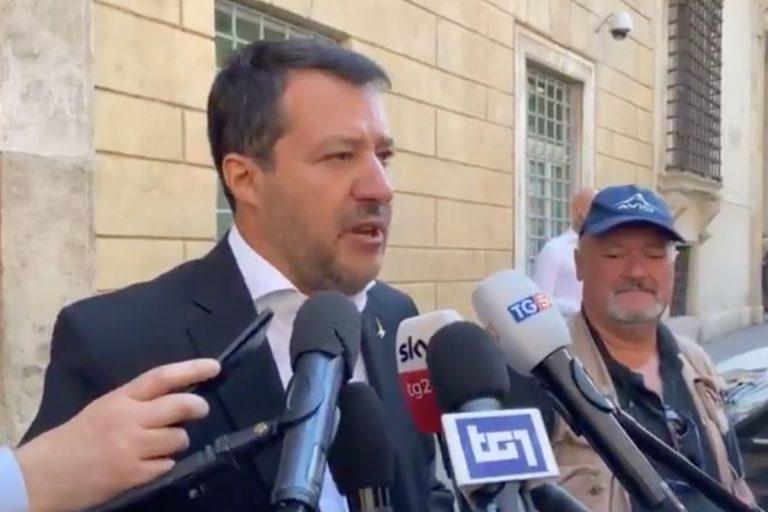 Rave Viterbo Salvini Lamorgese