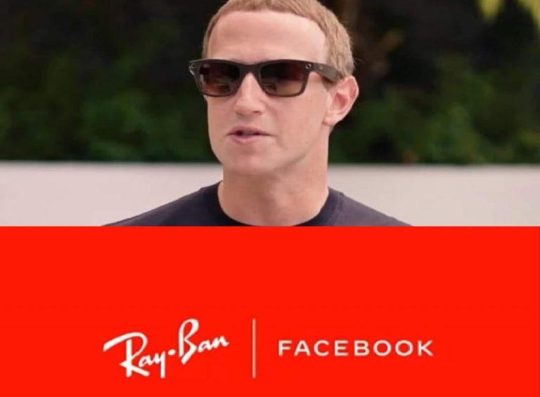Ray Ban stories, primi occhiali da sole di Facebook