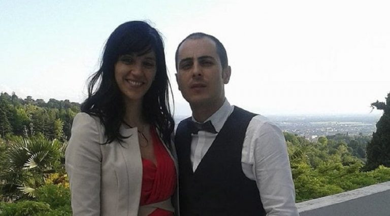 Alexandro Riccio e sua moglie, Teodora Casasanta