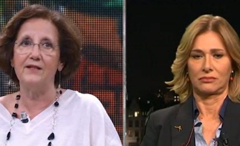 La dottoressa Salmaso e l'europarlamentare Donato