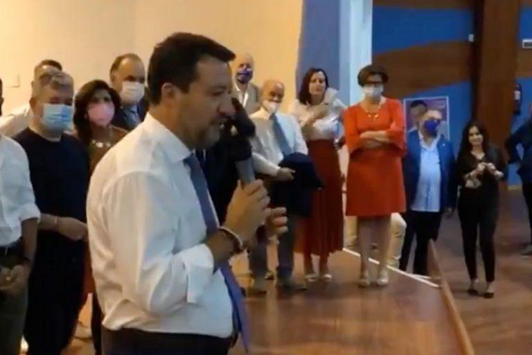 Salvini secondo dose vaccino