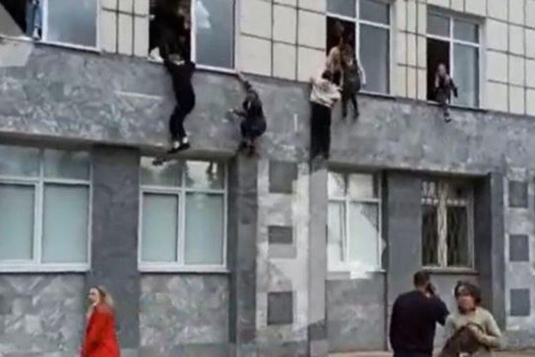 Sparatoria Russia