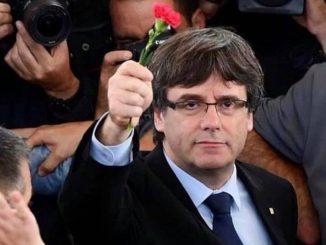 Sardegna arrestato carles Puigdemont