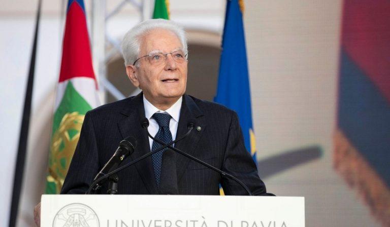 Sergio Mattarella a Pisa