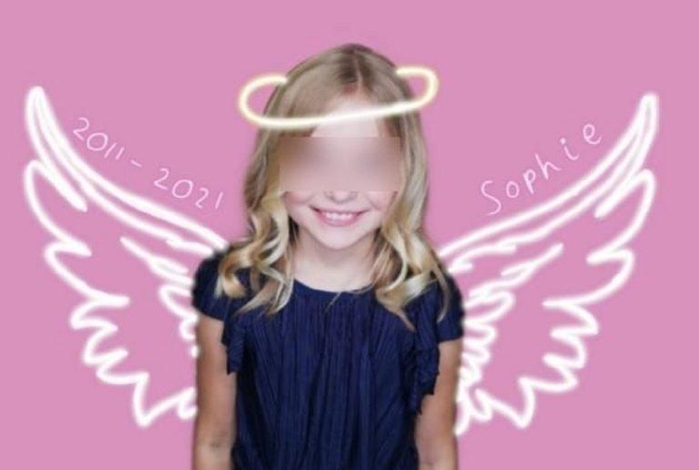 la piccola Sophie Fiarall