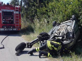 Tragedia a Petacciato, auto si ribalta e muore bambina di 4 anni