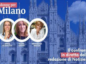 Comunali 2021: Tre donne per Milano