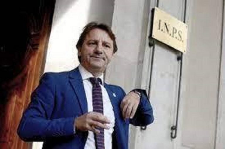 Pasquale Tridico, presidente Inps
