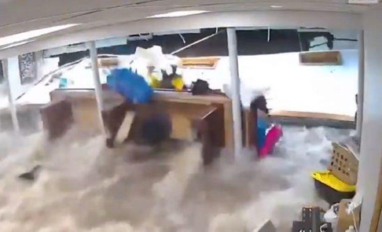 uragano ida inondazione