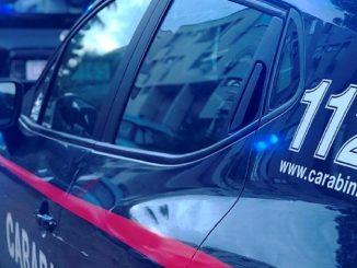 I Carabinieri sono intervenuti sul luogo del sinistro mortale