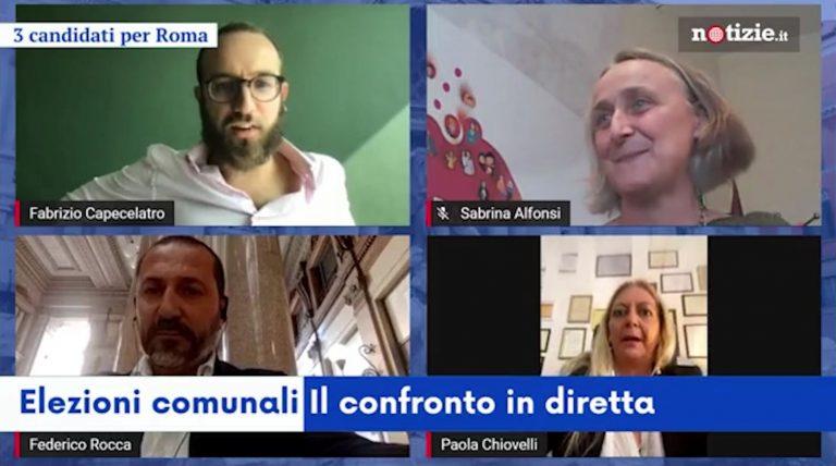 elezioni comunali 2021 3 candidati per roma