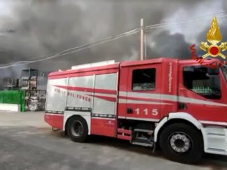 incendio Caserta