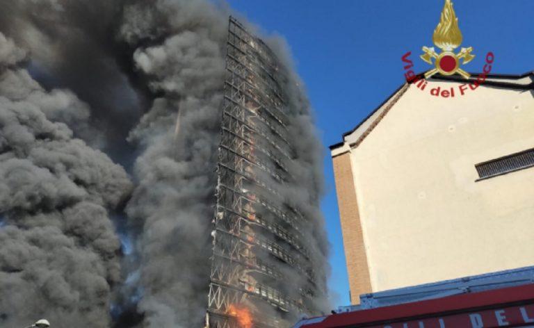 incendio Milano analisi