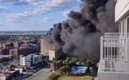 Incendio in ospedale a New York