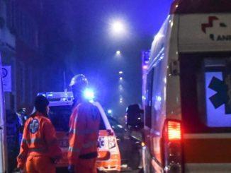 Incidente stradale in via Prenestina