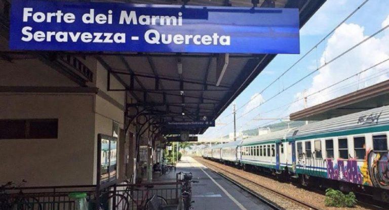 investito dal treno Versilia