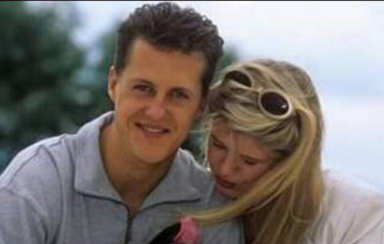 MIchael Schumacher e la moglie Corinna Bertsch