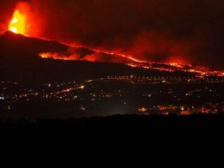 nube tossica Canarie Italia