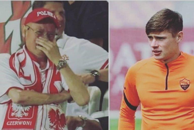 La commovente immagine del papà di Zalewski in lacrime