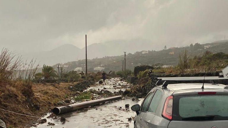 Tromba d'aria a Pantelleria