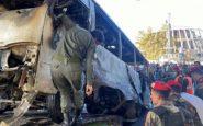 Attentato autobus Siria
