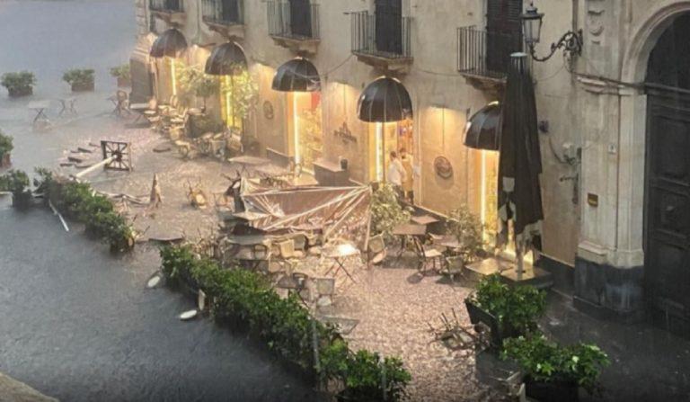 Catania tornado