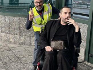 Della Gherardesca sedia rotelle