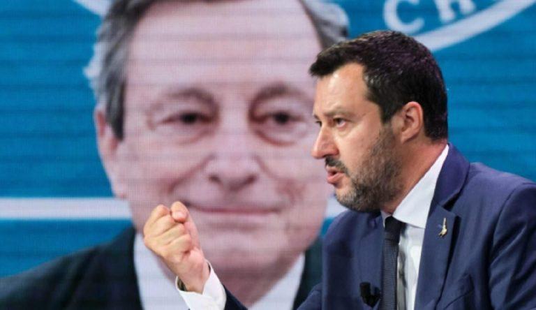Draghi incontra Salvini