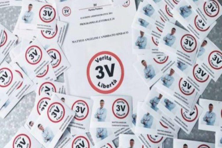 Ellezioni comunali 2021: il Movimento 3V