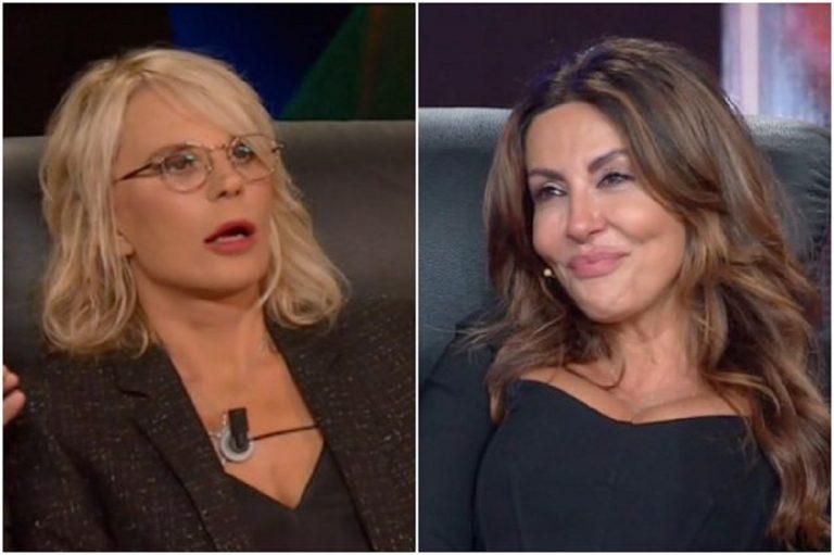 Maria De Filippi e Sabrina Ferilli