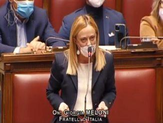 Giorgia Meloni Camera