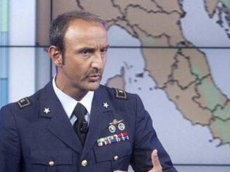 Il tenente colonnello Guidi